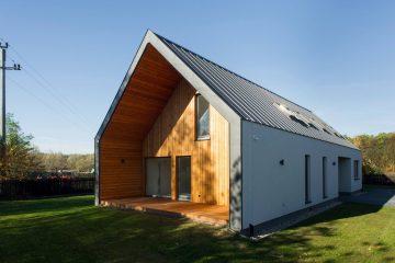 simple house, tanie domy modułowe, prefabrykowane, szkieletowe
