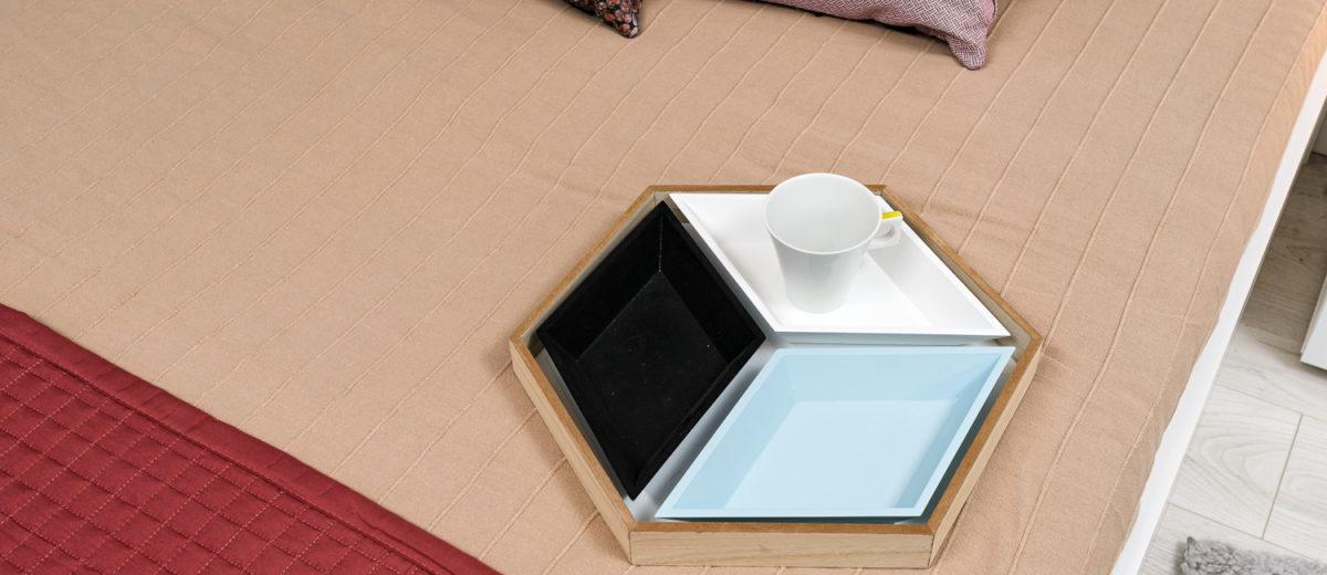 sypialnia, partner design, mieszkanie all in white