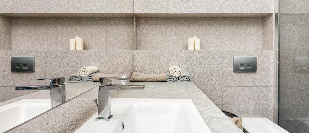 łazienka, partner design, mieszkanie all in white