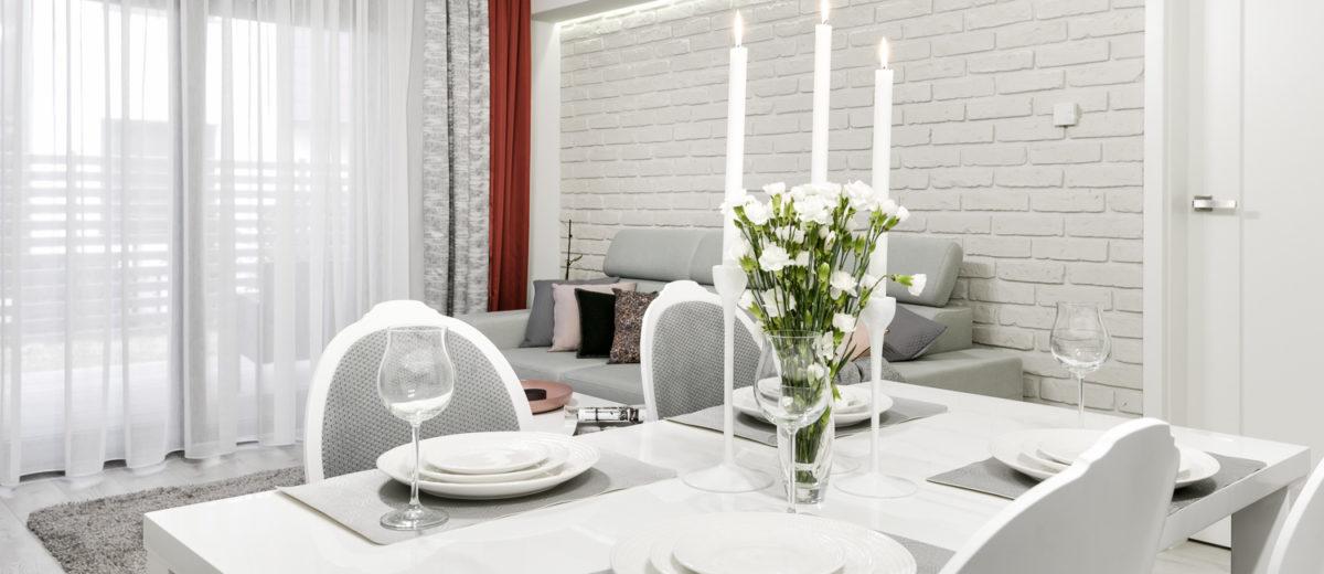 kuchnia, partner design, mieszkanie all in white