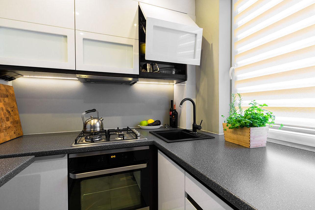 Mała kuchnia / proj. RENEES INTERIOR DESIGN