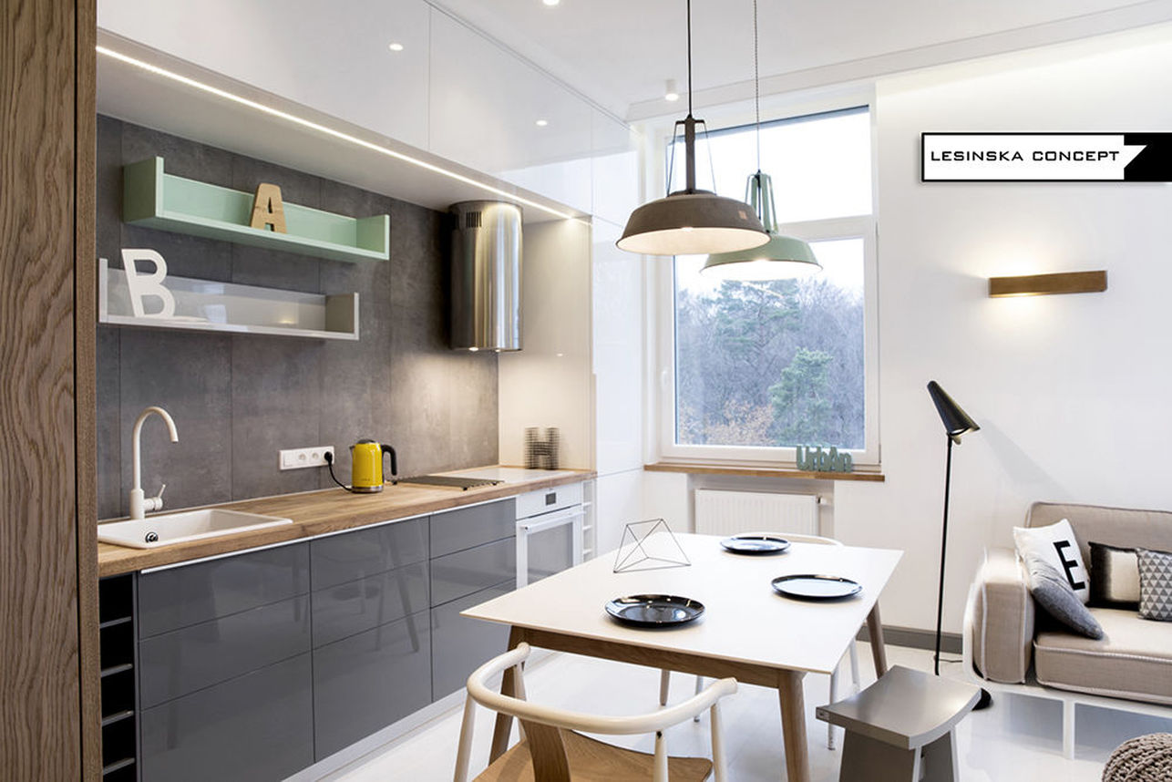 Szara kuchnia na 20 sposobów – najciekawsze projekty