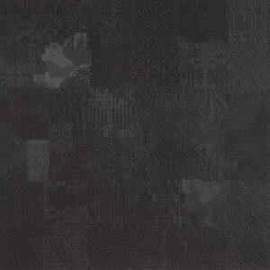 Mutina Płytka dekoracyjna Decor Nero kolekcja Déchirer by Patricia Urquiola