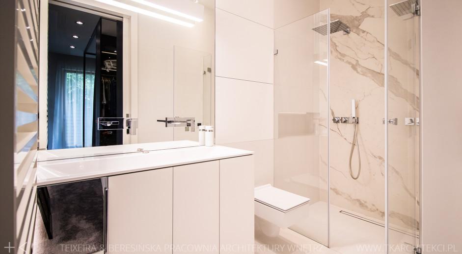 Projekt łazienki | proj. TK Architekci