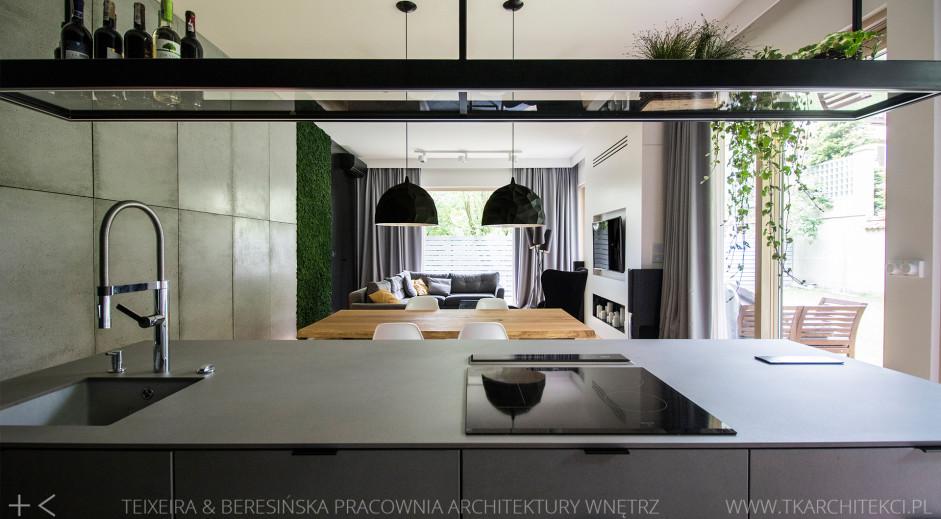 Kuchnia | proj. TK Architekci