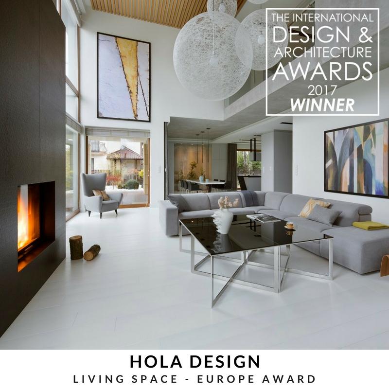 Wygrany projekt zrealizowany przez pracownię HOLA Design