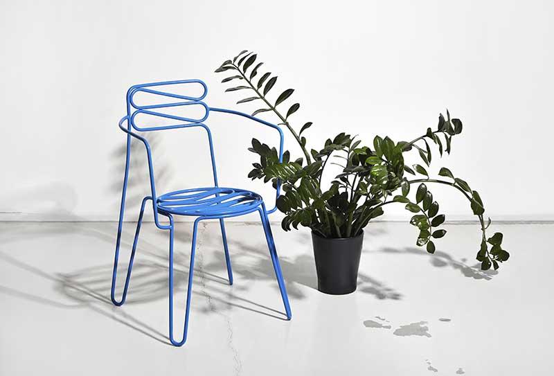The Little Black armchair | proj. Maria Jeglinska