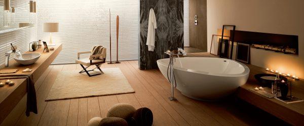 Aranżacja łazienki organicznej - Axor