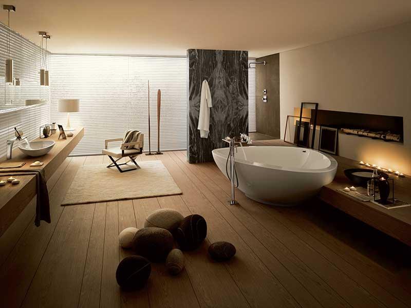 Jesień do najlepszy czas na urządzenie domowego spa w salonie kąpielowym | Sanitariaty: Axor
