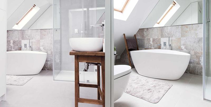 łazienka w stylu skandynawskiego minimalizmu