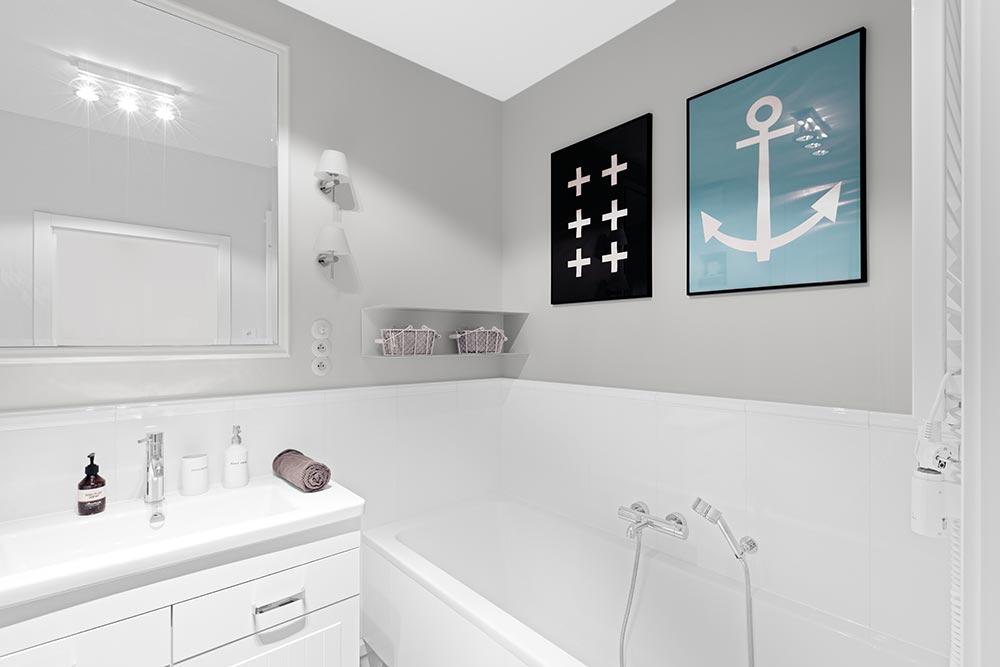 Łazienka, proj. Domagała Design