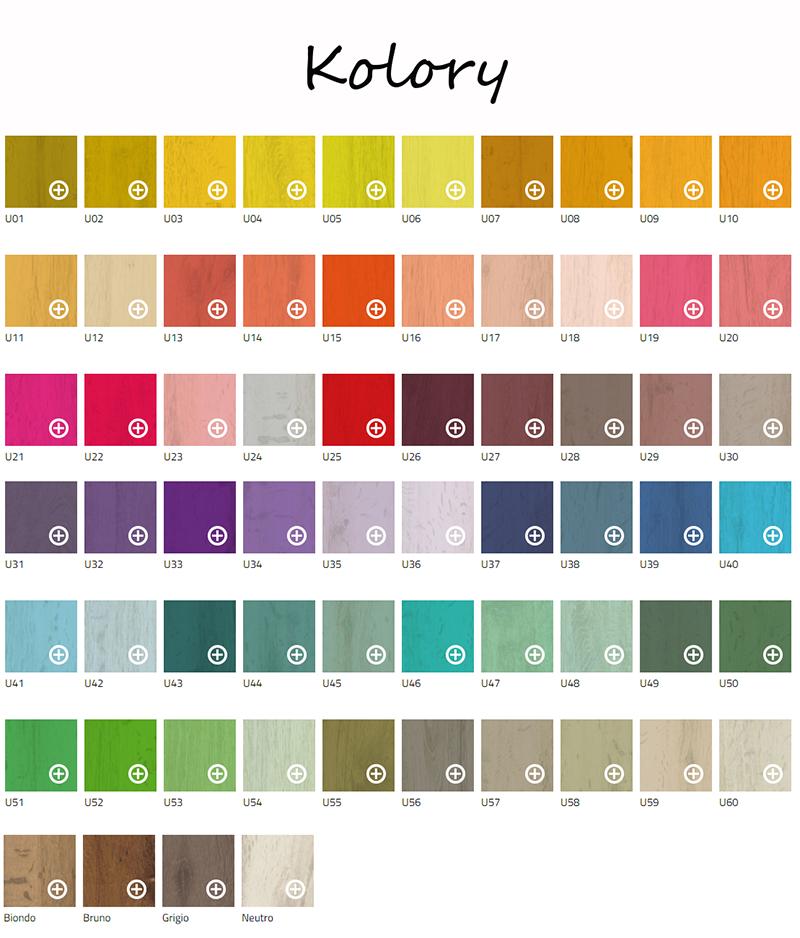Kolory płytek U - Colour marki 41 zero 42
