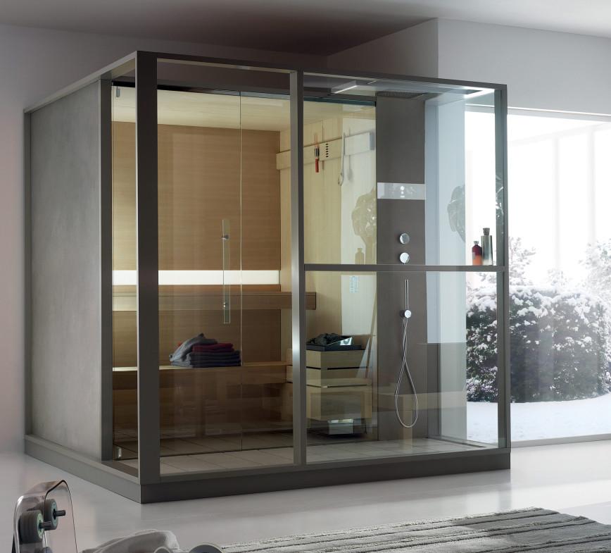 Sauna od Effegibi - rozwiązanie dostępne w naszych showroomach