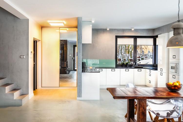 Otwarta kuchnia, proj. COCO Pracownia projektowania wnętrz
