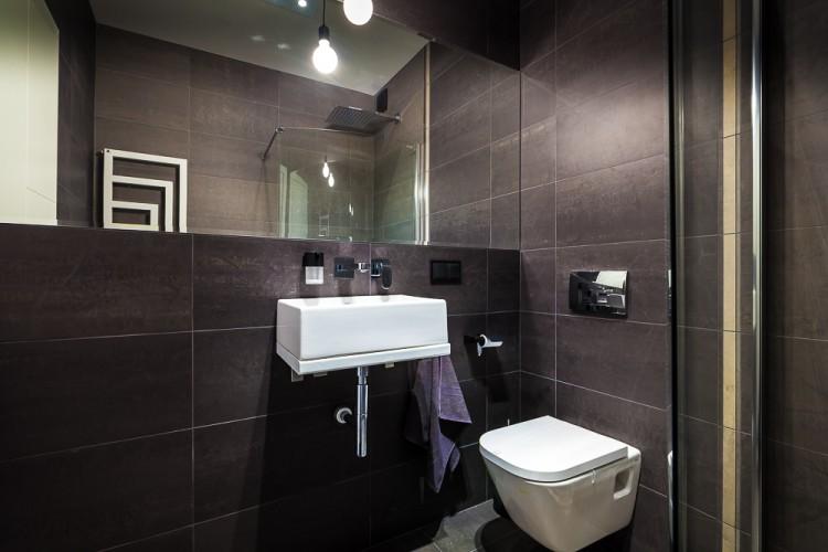 Łazienka 1, proj. COCO Pracownia projektowania wnętrz