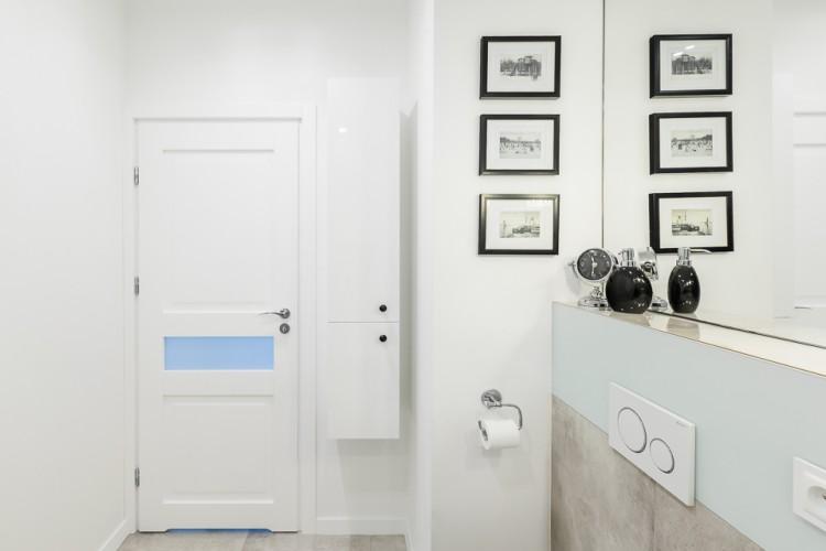 Łazienka, proj. COCO pracownia projektowania wnętrz