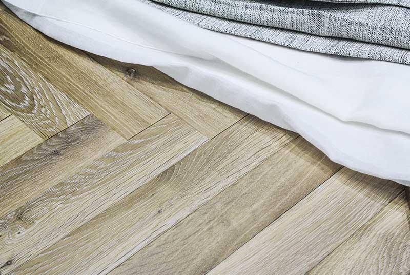 Dzięki klepkom podłogowym ułożysz różne wzory
