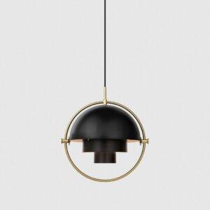 Gubi Lampa Multi-Lite Pendant czarna