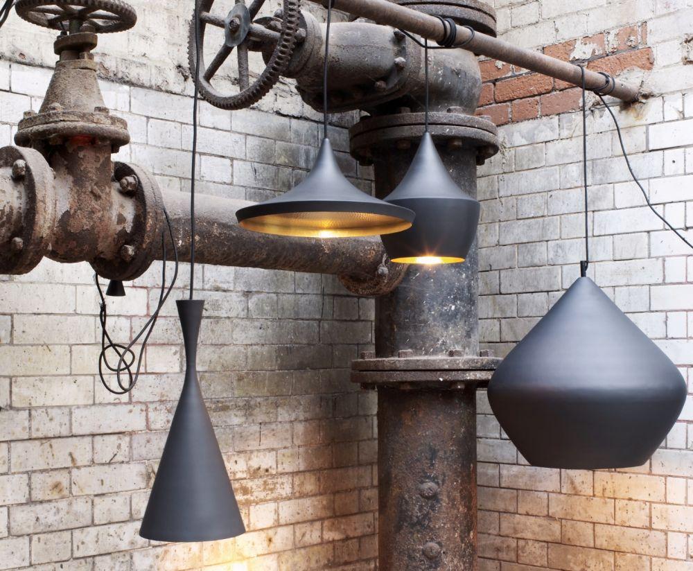 Lampy zaprojektowane przez Toma Dixona