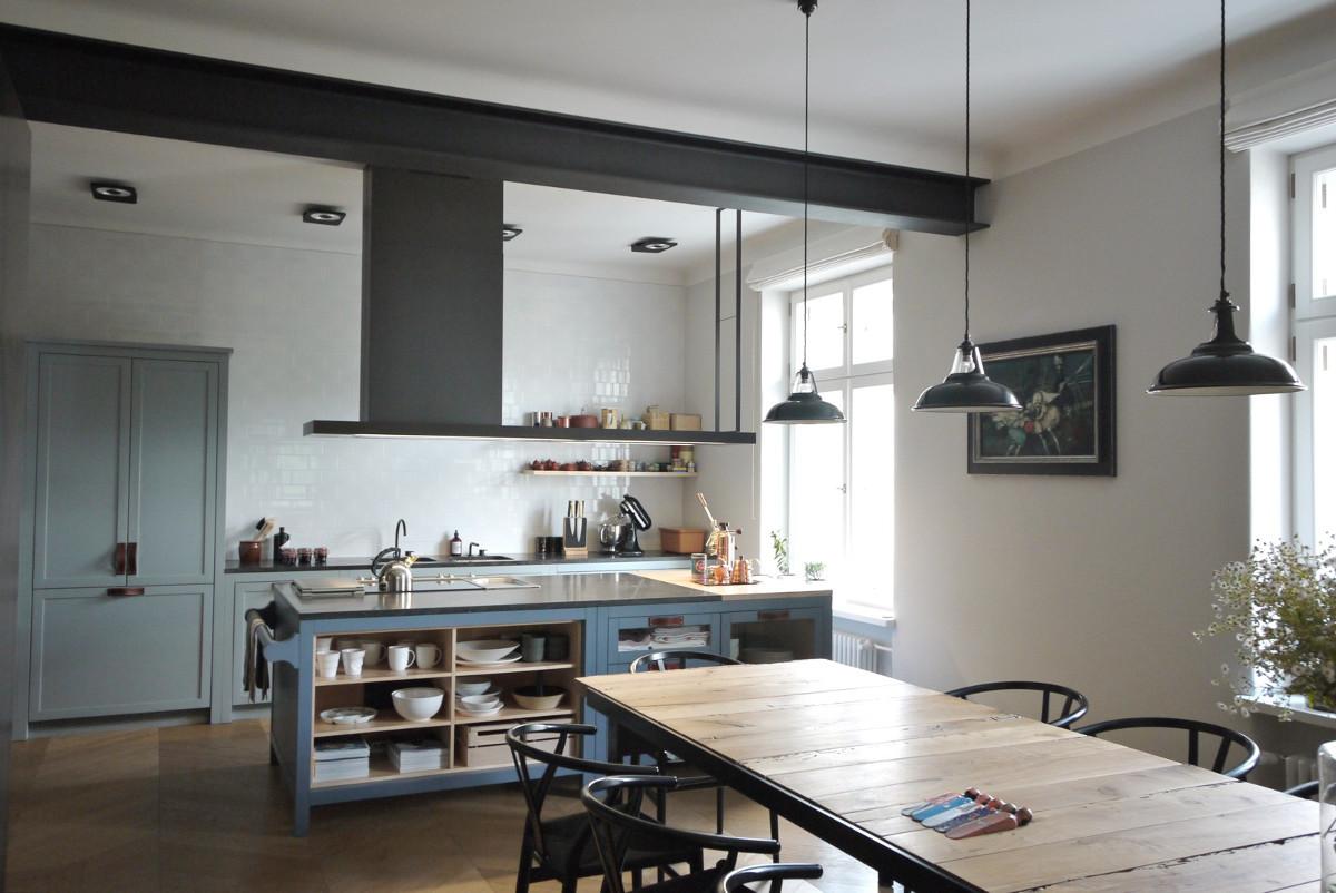 Drewniana kuchnia | proj. Indoor