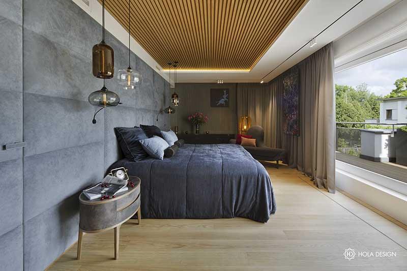 Ciepło światło jest jednym z wyznaczników udanej aranżacji | proj. Hola Design