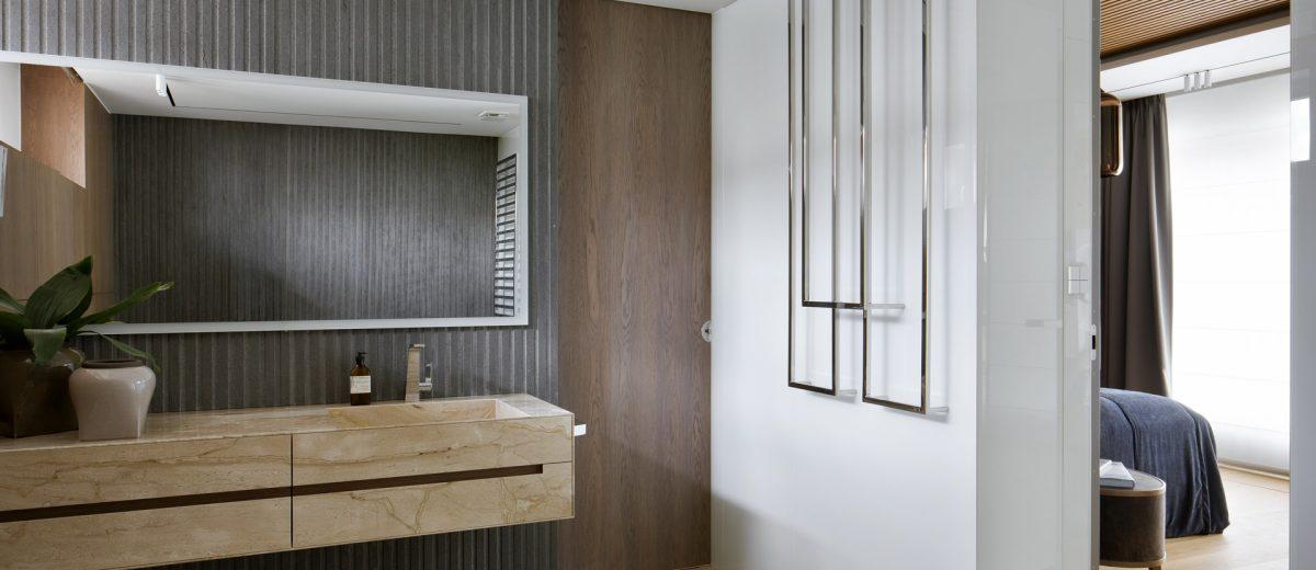 Łazienka, proj. Hola Design