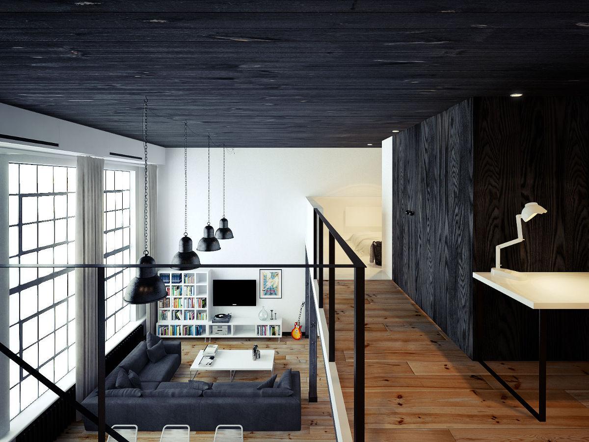 Loft apartament | proj. ofdesign Oskar Firek