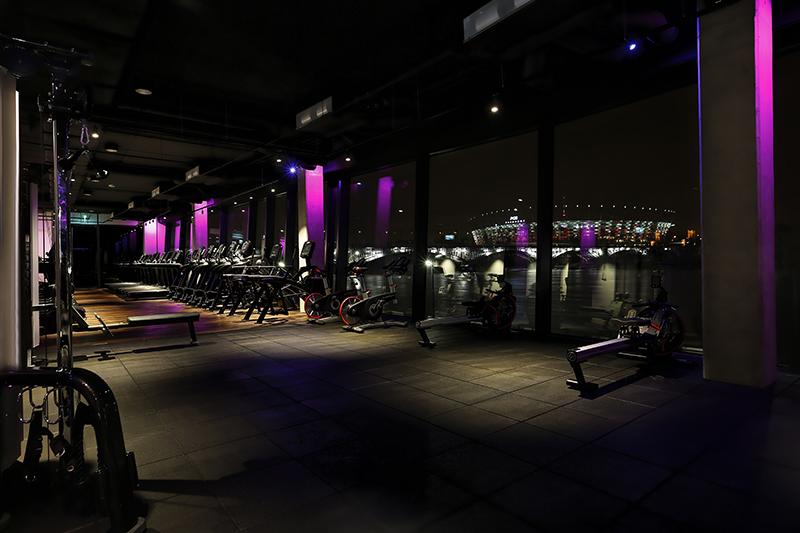 Exuma Gym | Projekt Sojka & Wojciechowski