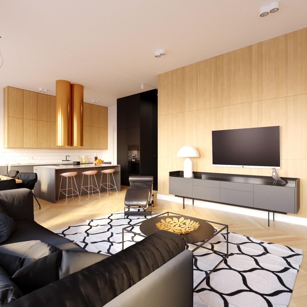 Apartament BT   proj. Yon Yonson