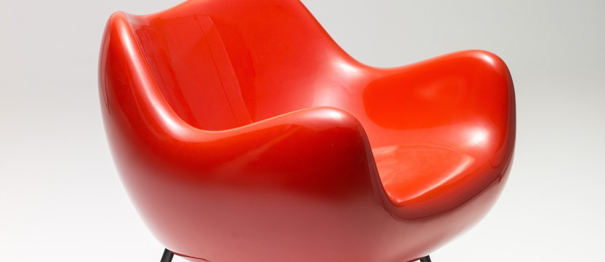 """Fotel """"RM58"""", 1958, autor projektu: Roman Modzelewski, produkcja: Vzór"""