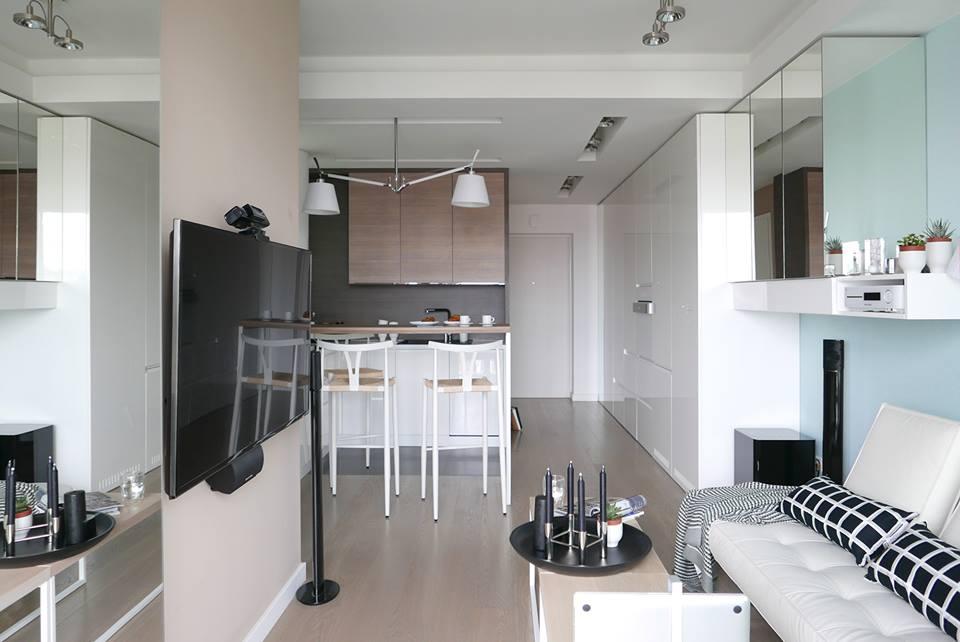 Mieszkanie 35m2 Dla Rodziny Z Dzieckiem Proj Archomega