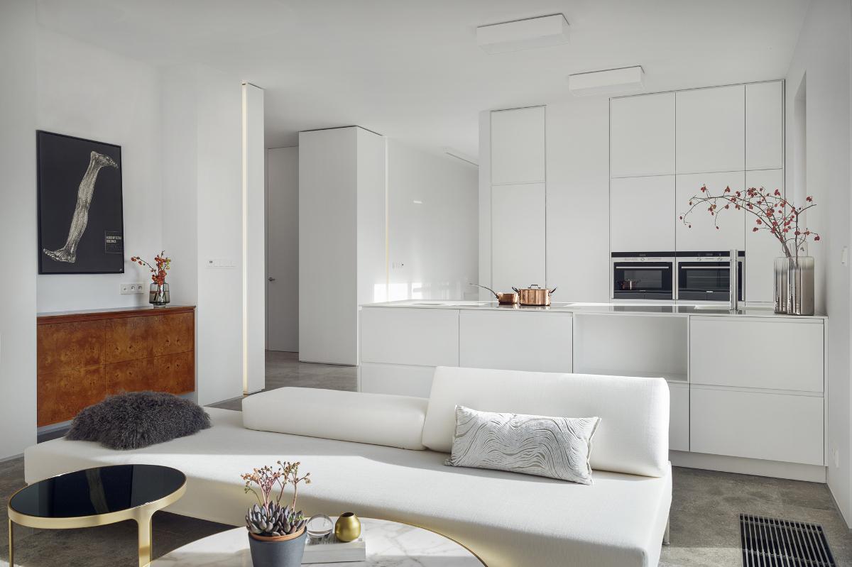 Skandynawskie mieszkanie | proj. LOFT Magdalena Adamus, photo: Tom Kurek