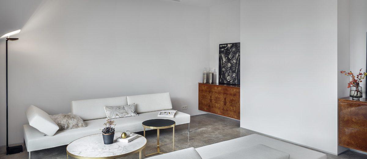 Salon w stylu skandynawskim | proj. LOFT Magdalena Adamus