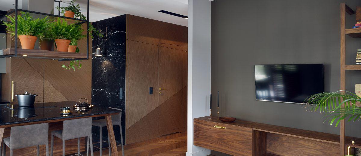 Wnętrze jest niezwykle spójne i harmonijne | proj. JT Grupa, photo: Tom Kurek