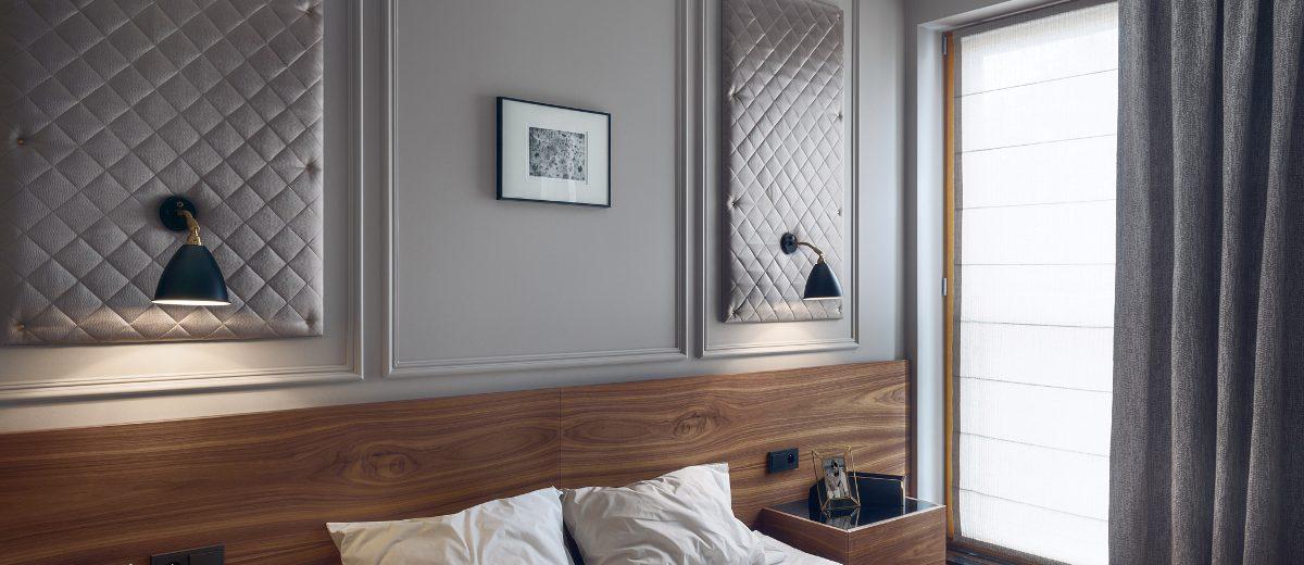 Niezwykle przytulna sypialnia, proj. JT Grupa, photo: Tom Kurek