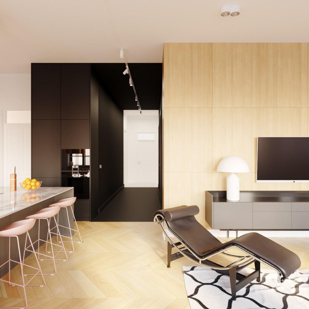 Apartament BT | proj. Yon Yonson