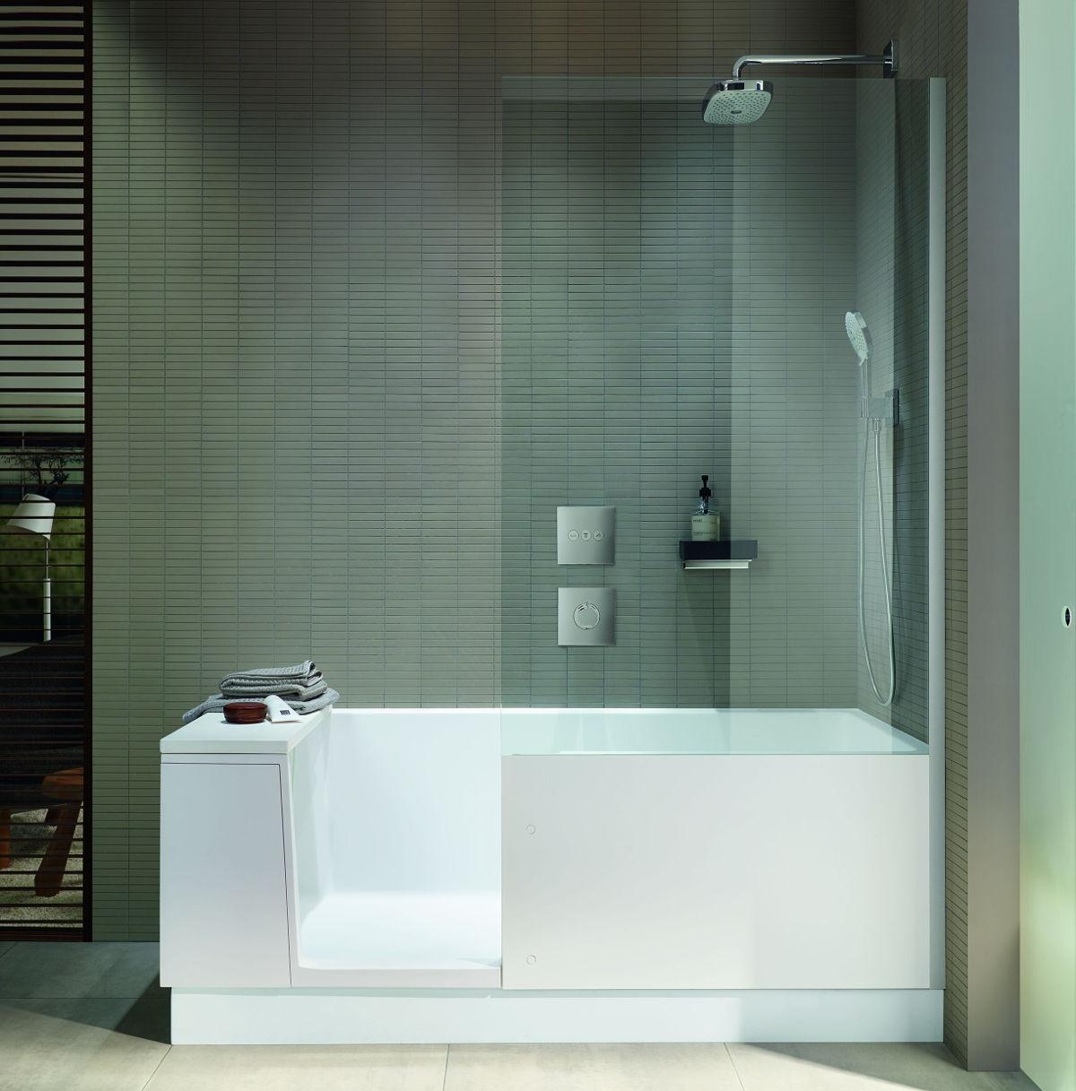 Połączenie wanny i brodzika Shower & Bath marki Duravit