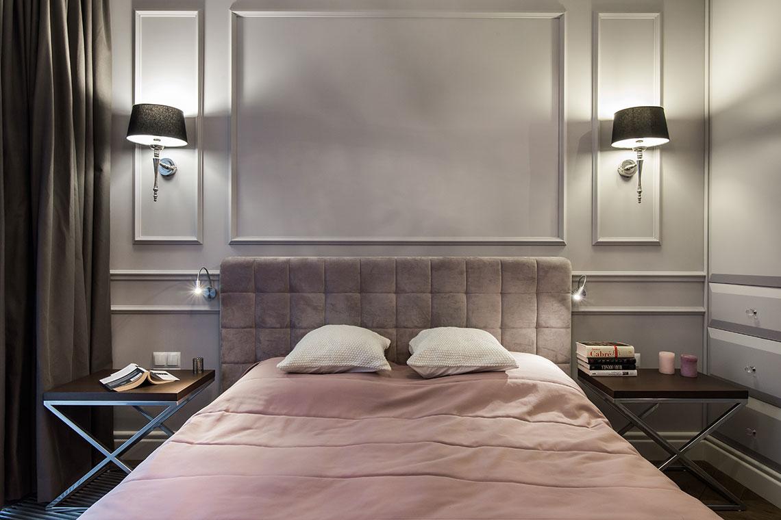 Nie bagatelizuj roli światła w aranżacji sypialni   proj. Eg Projekt