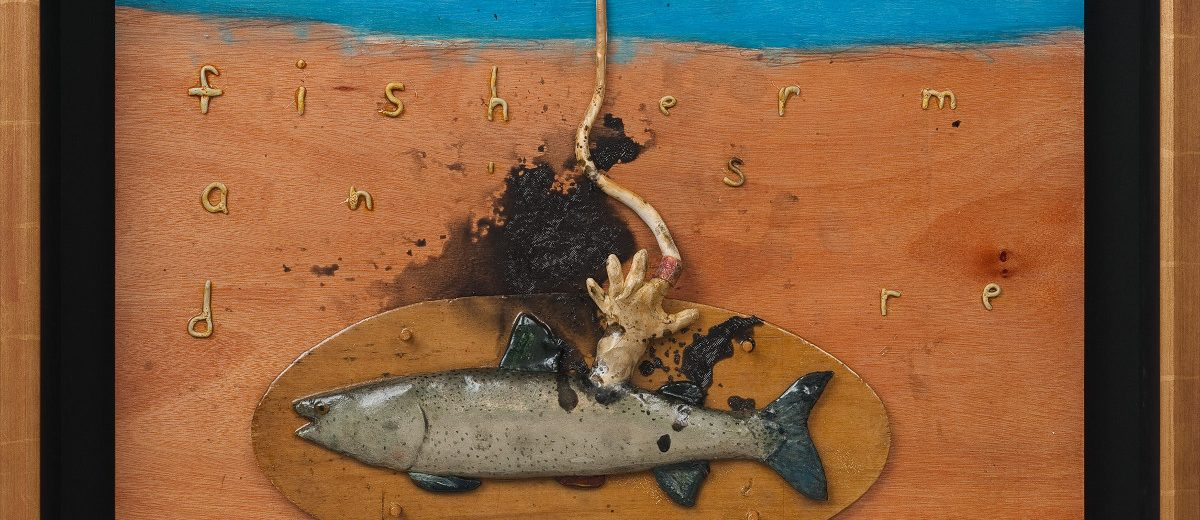 Fisherman's Dream with Steam Iron, 2012, Copyright: David Lynch