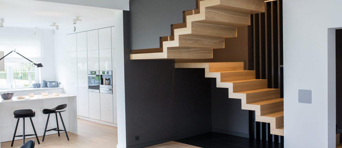 Otwarta kuchnia, proj. Ev Architects