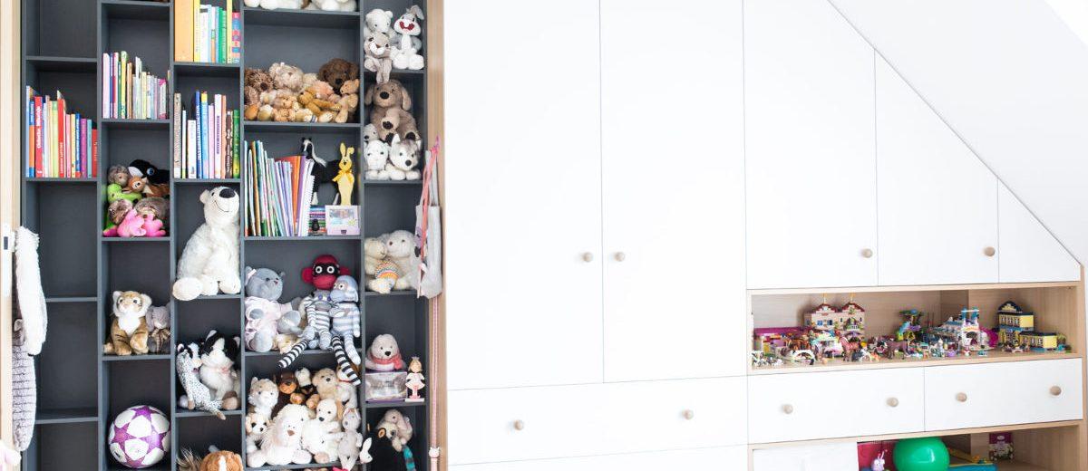 Pokój dziecięcy, proj. Ev Architects