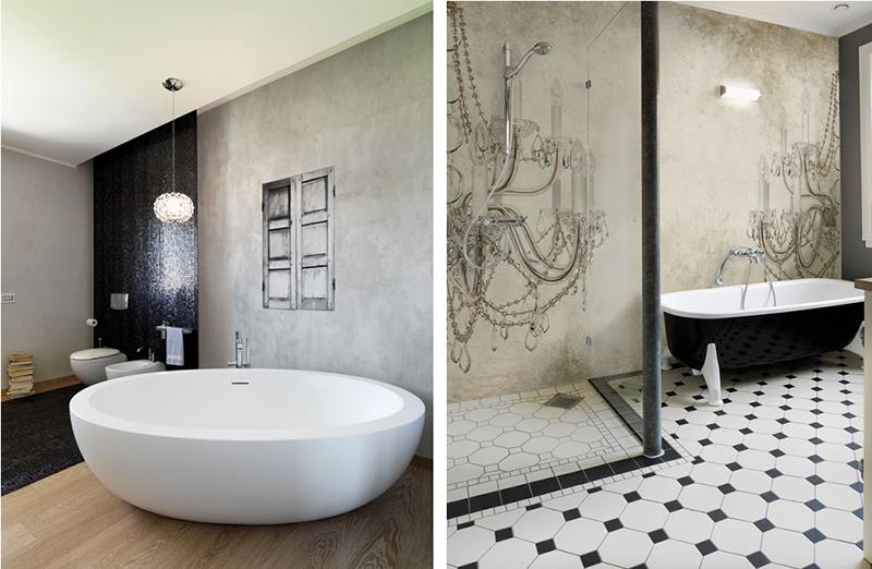 Tapeta do zastosowania w wilgotnych pomieszczeniach od Wall & Deco