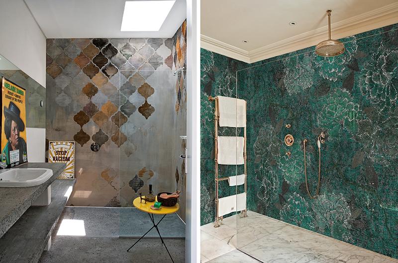 Tapety Wall & Deco z serii Wet System są przystosowane do wilgotnych pomieszczeń