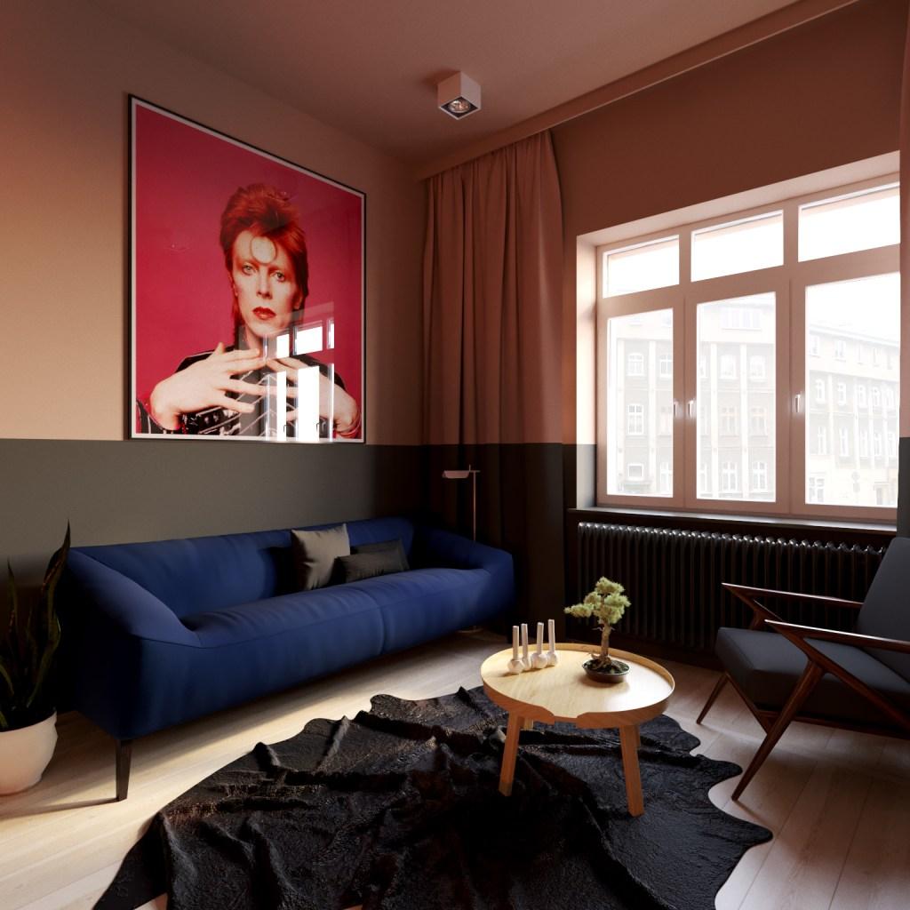 David Bowie w projekcie Yon Yonson Studio