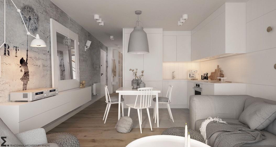 Proj: Elementy mieszkanie dwupoziomowe
