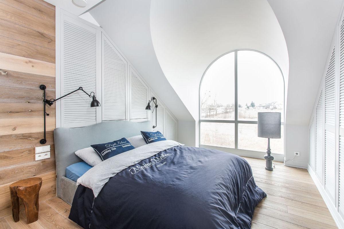 Sypialnia, proj. Em Design