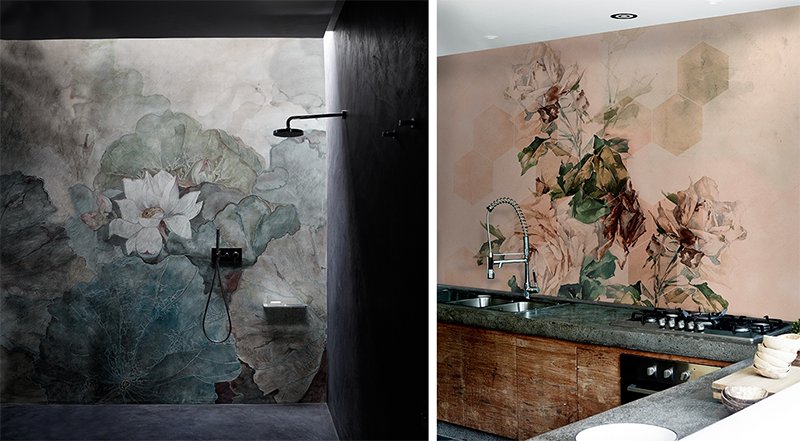 Tapety do zastosowania w wilgotnych pomieszczeniach od Wall & Deco
