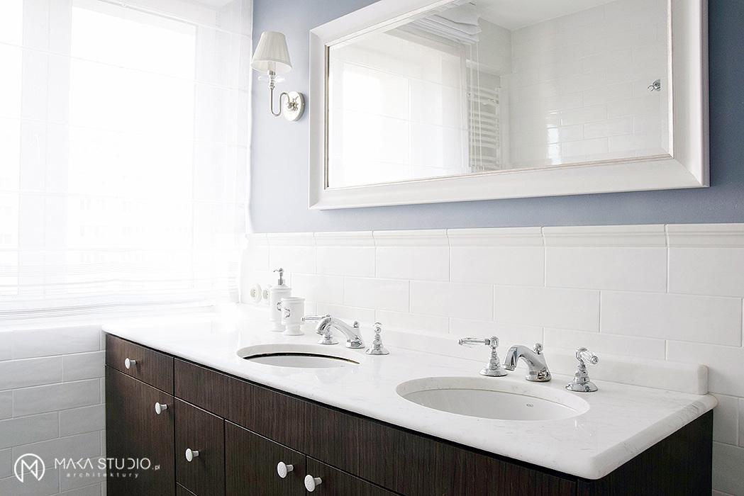 Aranżacja łazienki | proj. MAKA.STUDIO