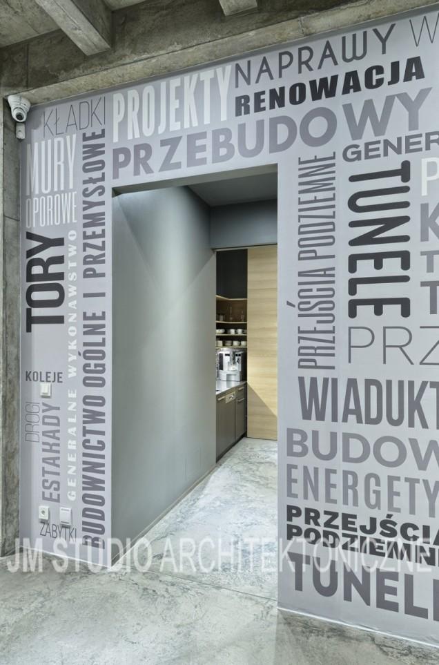 Siedziba firmy Intop Warszawa projekt JM Studio.