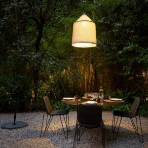 Zewnętrzna lampa podłogowa Jaima, Marset